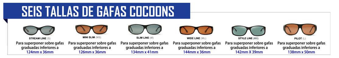 Gafas con filtro para superponer sobre otras gafas