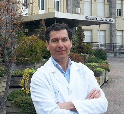 Juan Ilarduya, optometrista en Bilbao